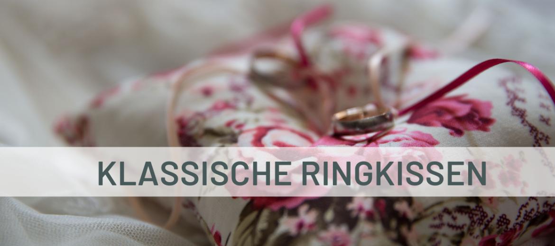 Klassisches Ringkissen im Vintage Design